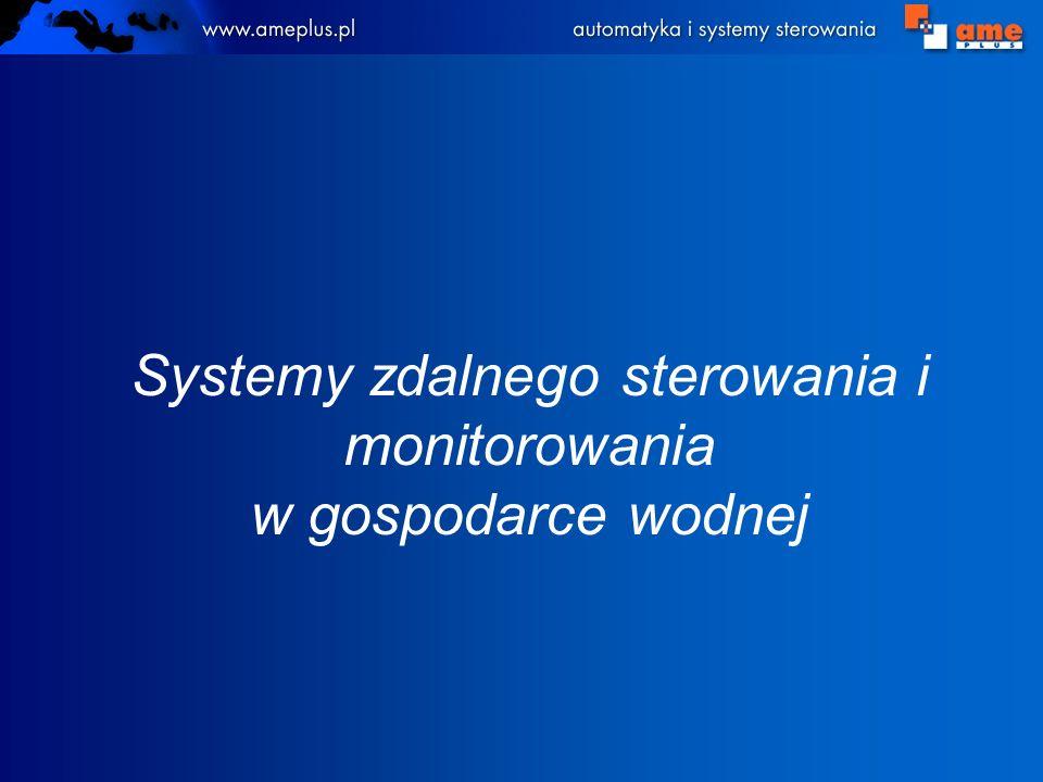 Systemy zdalnego sterowania i monitorowania w gospodarce wodnej