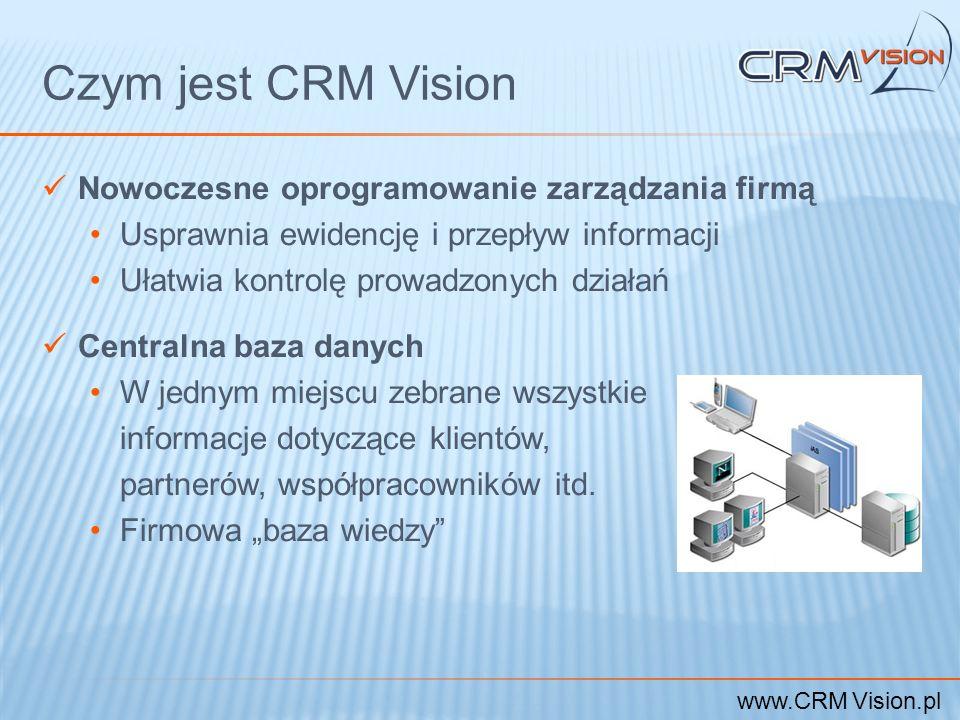 Czym jest CRM Vision Nowoczesne oprogramowanie zarządzania firmą
