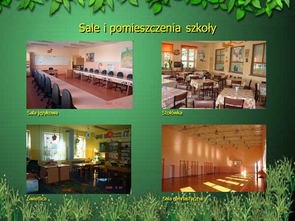 Sale i pomieszczenia szkoły