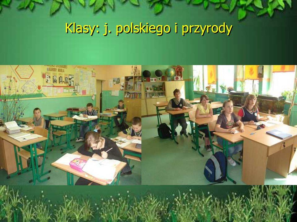 Klasy: j. polskiego i przyrody