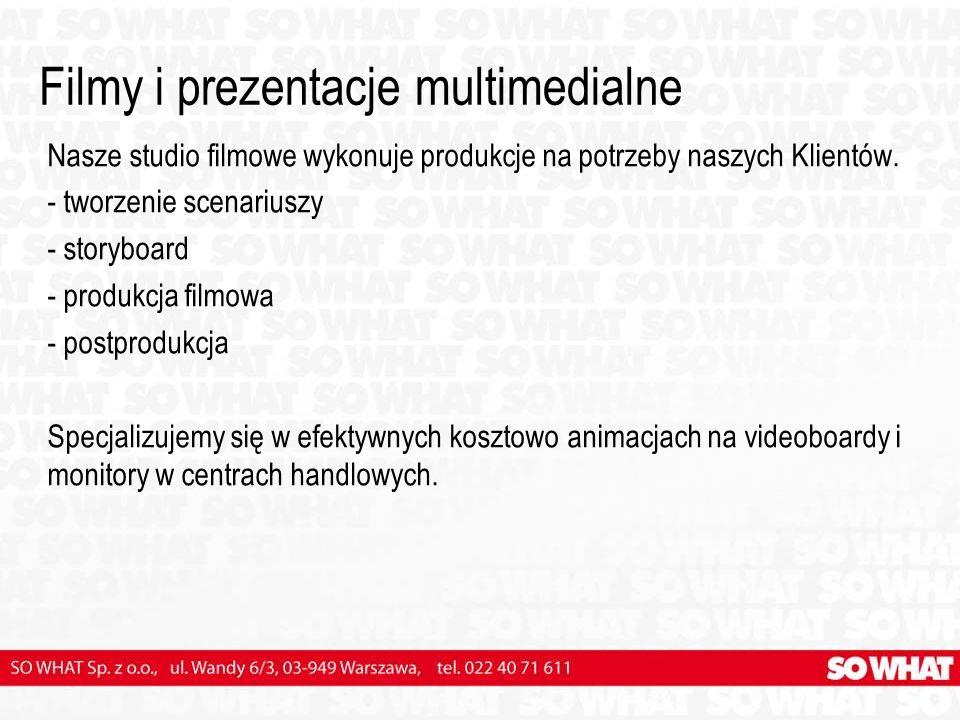 Filmy i prezentacje multimedialne
