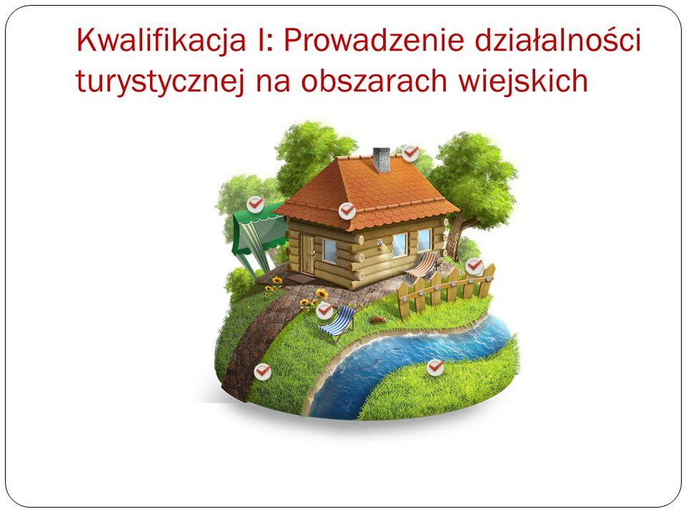 Kwalifikacja I: Prowadzenie działalności turystycznej na obszarach wiejskich