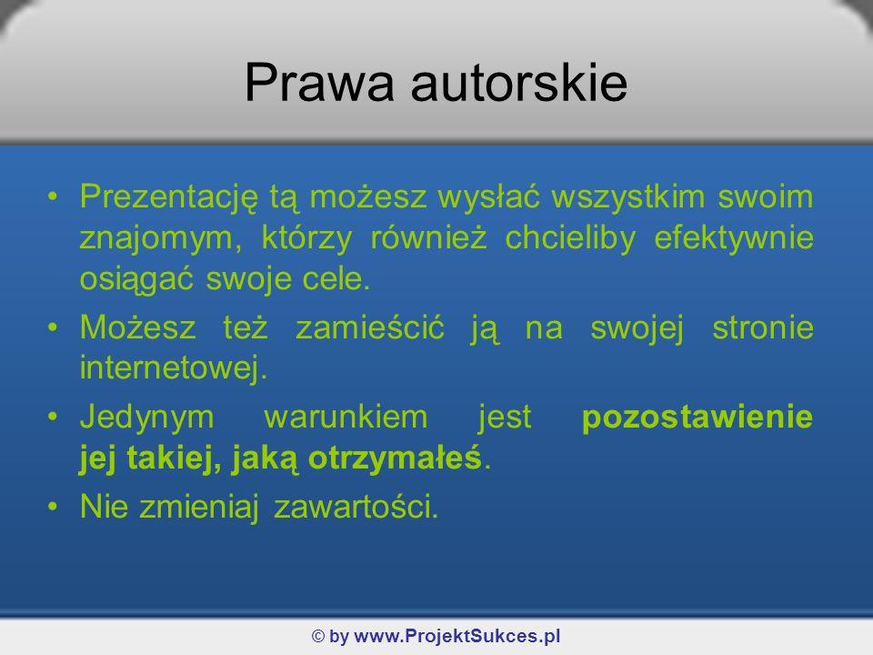 © by www.ProjektSukces.pl