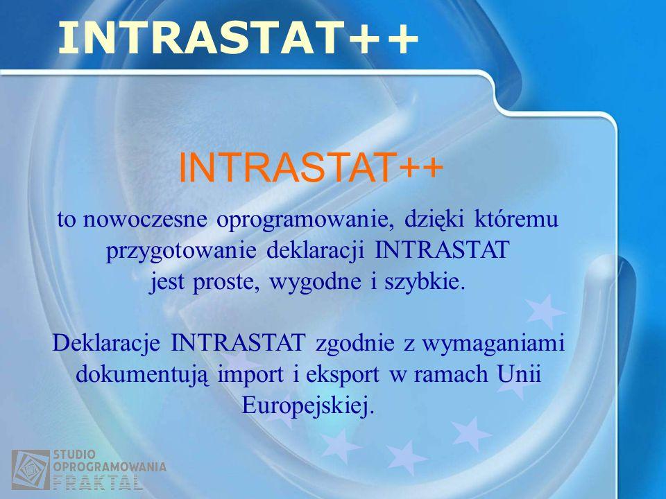 INTRASTAT++ INTRASTAT++