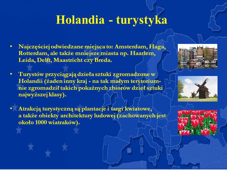 Holandia - turystyka