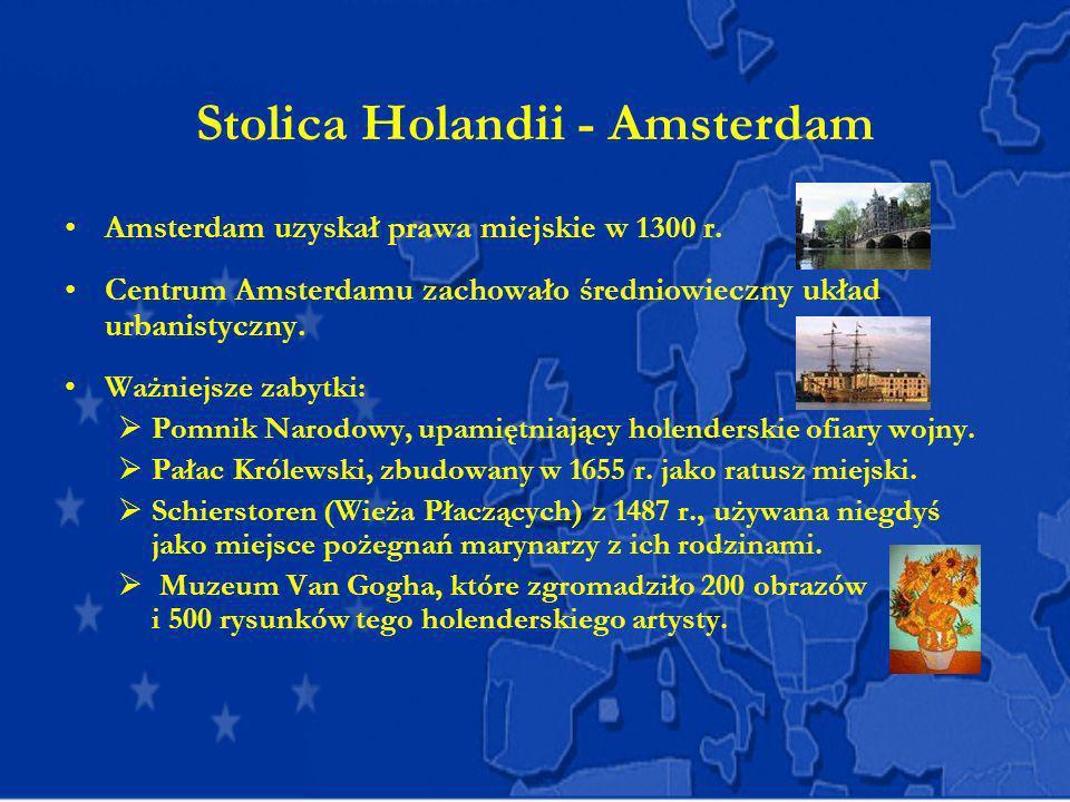 Stolica Holandii - Amsterdam
