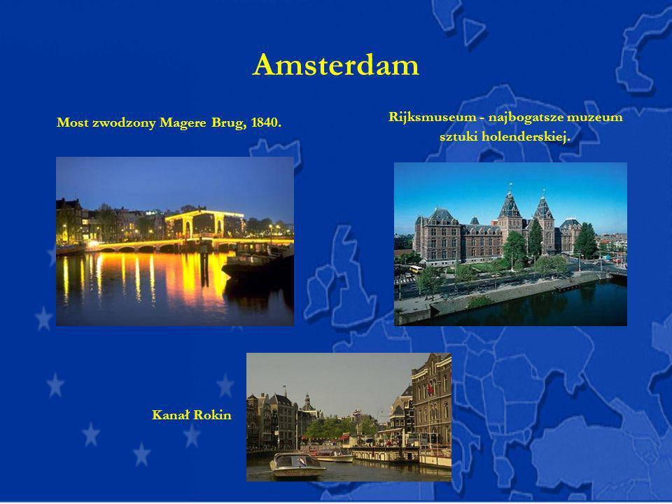 Rijksmuseum - najbogatsze muzeum sztuki holenderskiej.