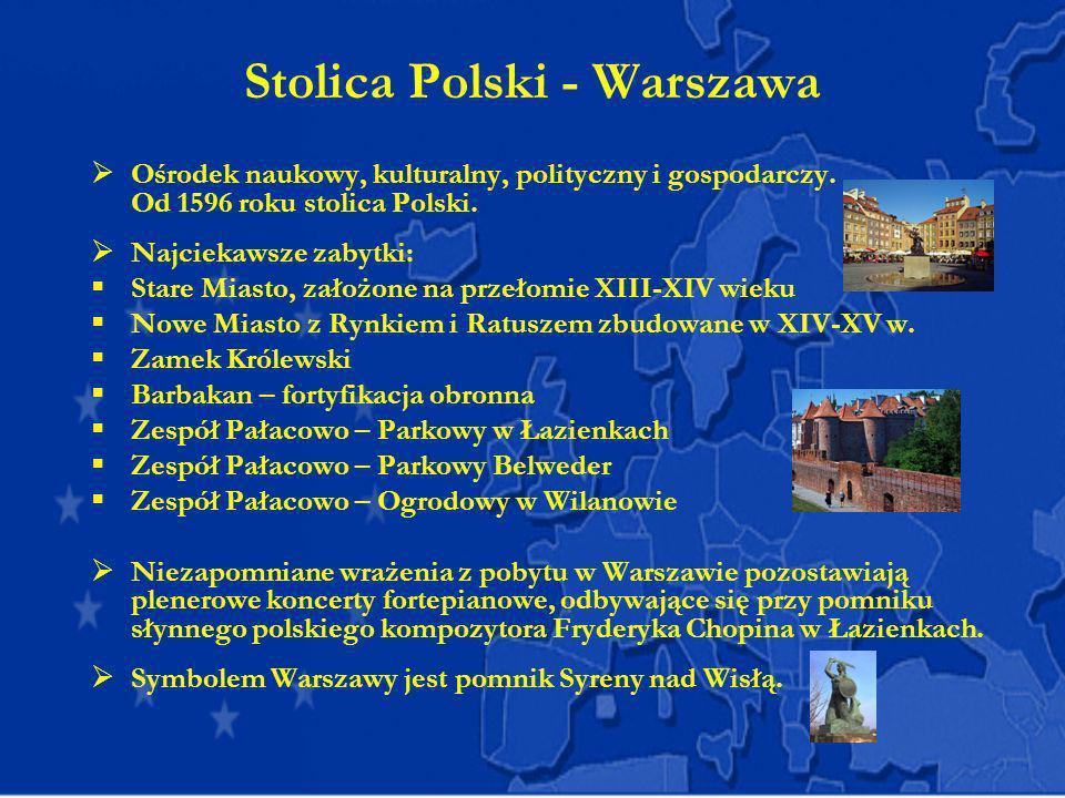 Stolica Polski - Warszawa
