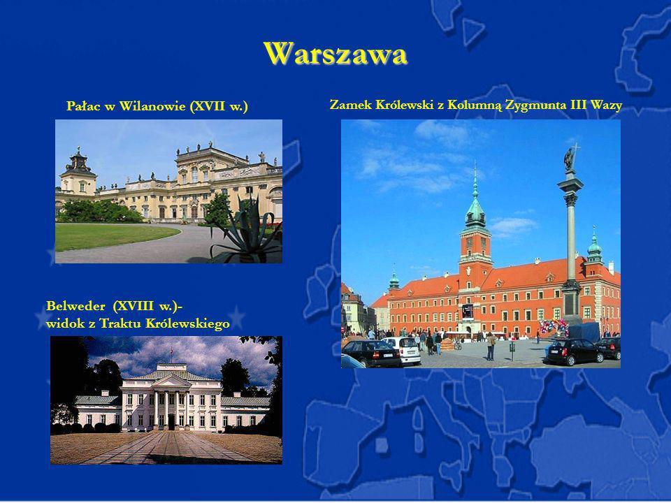 Warszawa Pałac w Wilanowie (XVII w.)
