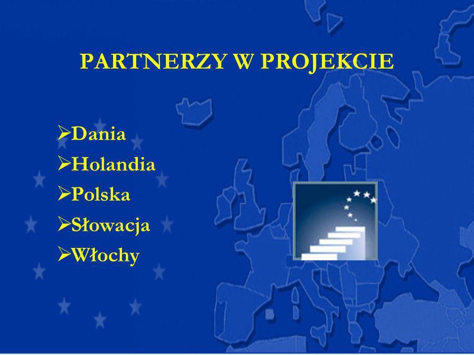 PARTNERZY W PROJEKCIE Dania Holandia Polska Słowacja Włochy