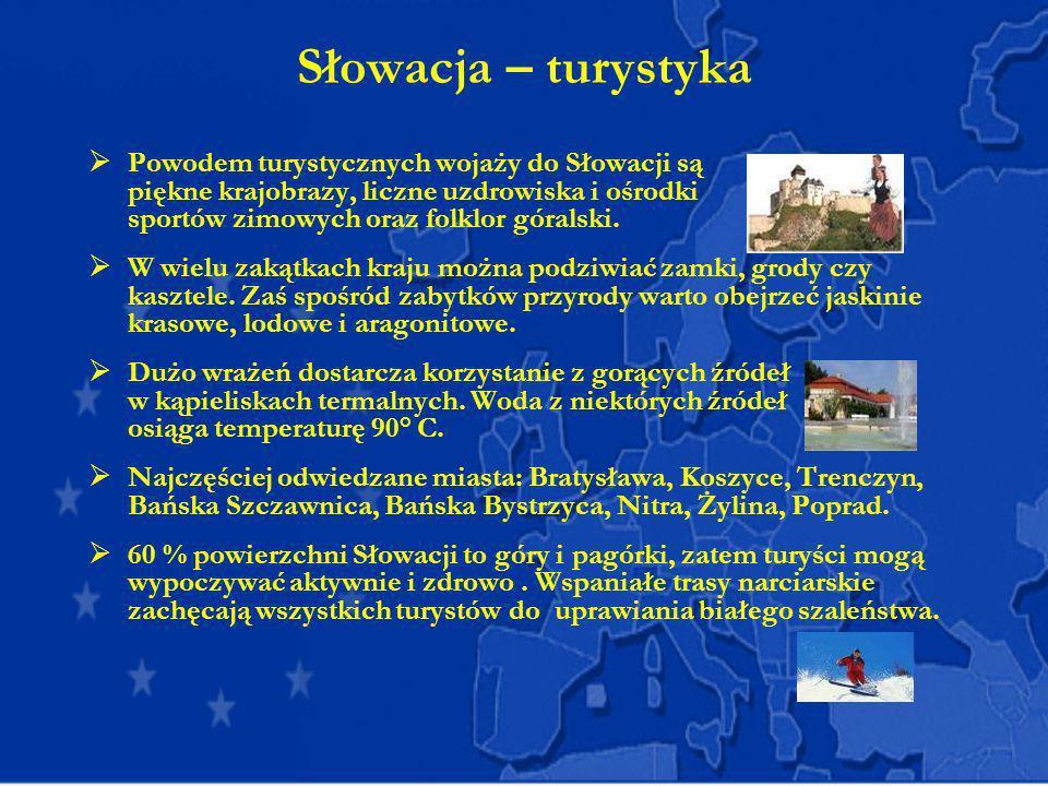 Słowacja – turystyka