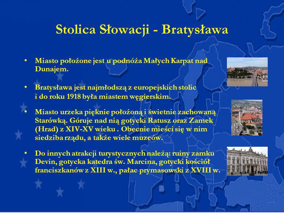 Stolica Słowacji - Bratysława