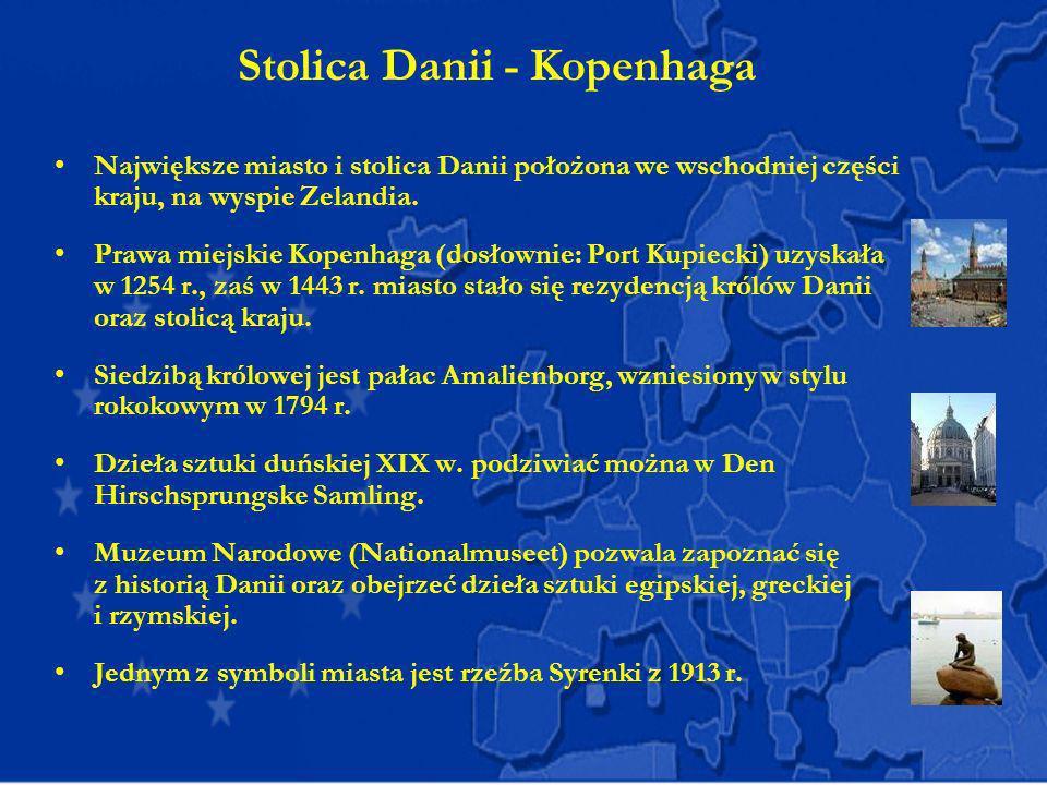 Stolica Danii - Kopenhaga