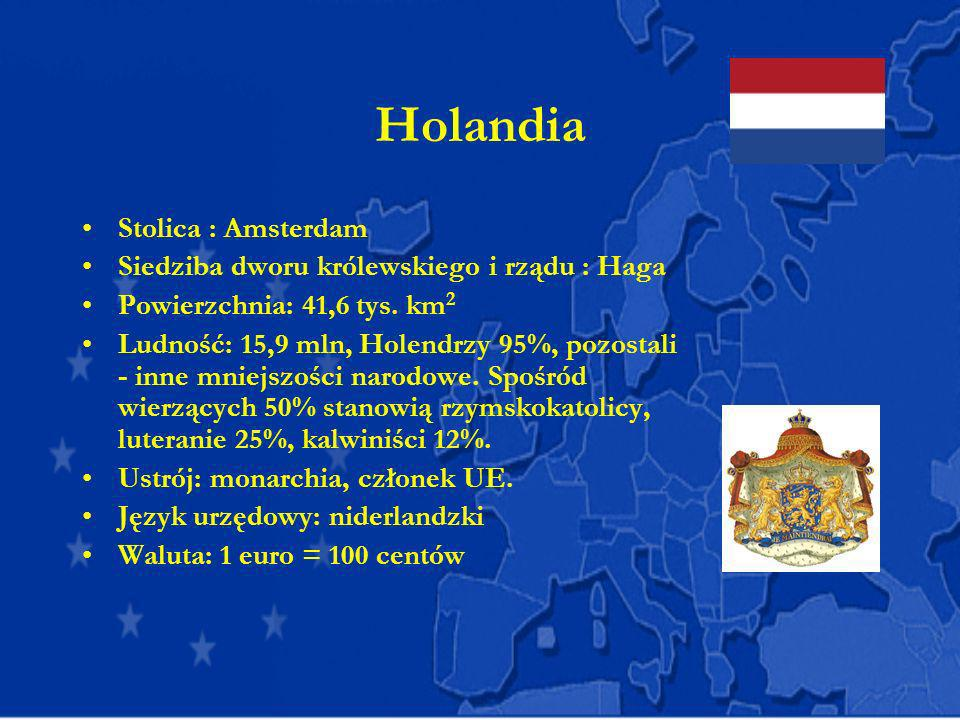 Holandia Stolica : Amsterdam