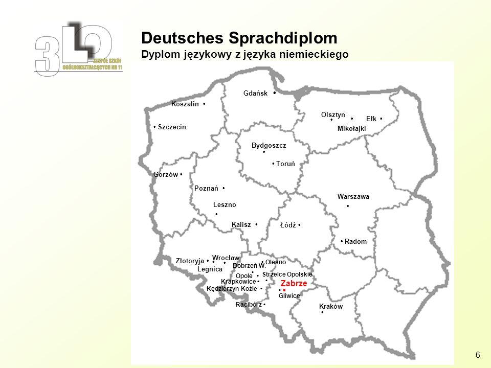Deutsches Sprachdiplom Dyplom językowy z języka niemieckiego