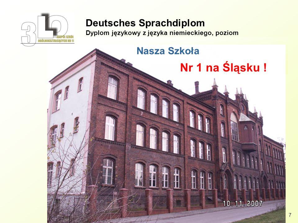 Deutsches Sprachdiplom Dyplom językowy z języka niemieckiego, poziom