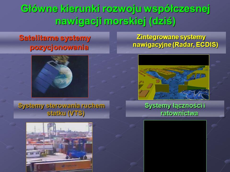 Główne kierunki rozwoju współczesnej nawigacji morskiej (dziś)