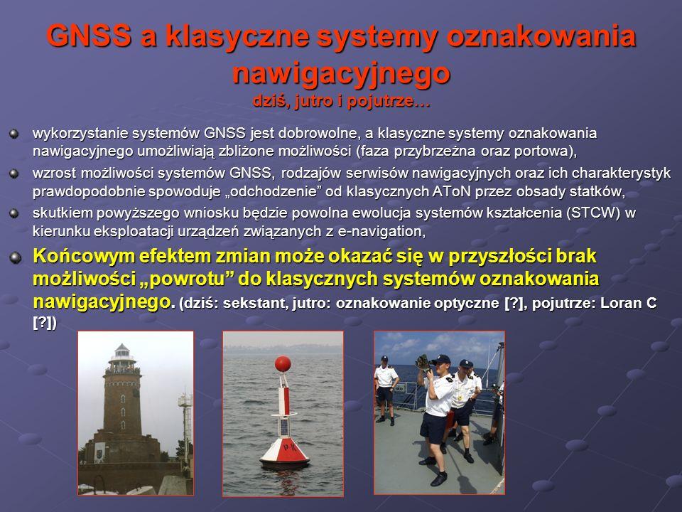 GNSS a klasyczne systemy oznakowania nawigacyjnego dziś, jutro i pojutrze…