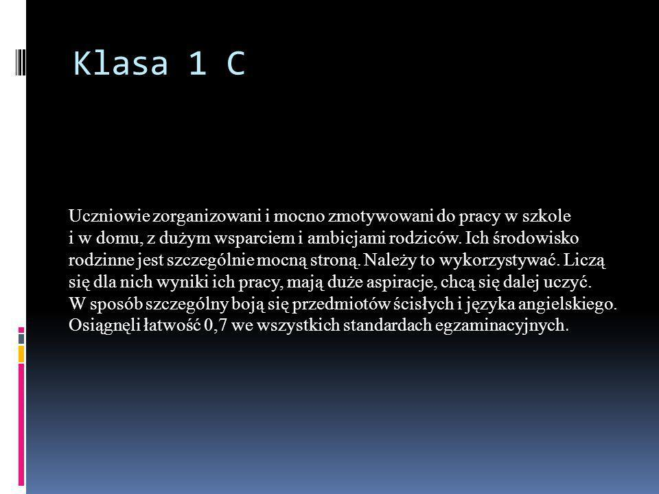 Klasa 1 C