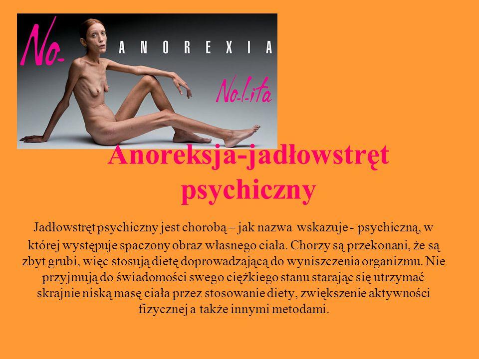 Anoreksja-jadłowstręt psychiczny
