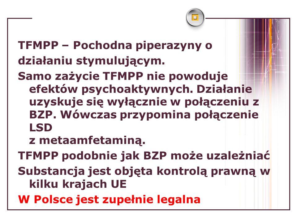 TFMPP – Pochodna piperazyny o działaniu stymulującym