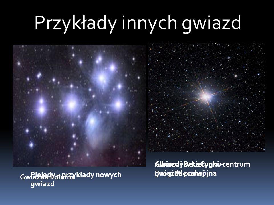Przykłady innych gwiazd