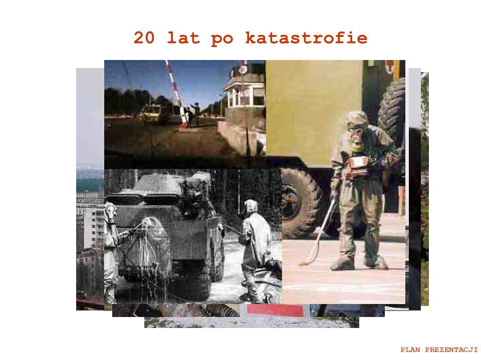 20 lat po katastrofie PLAN PREZENTACJI