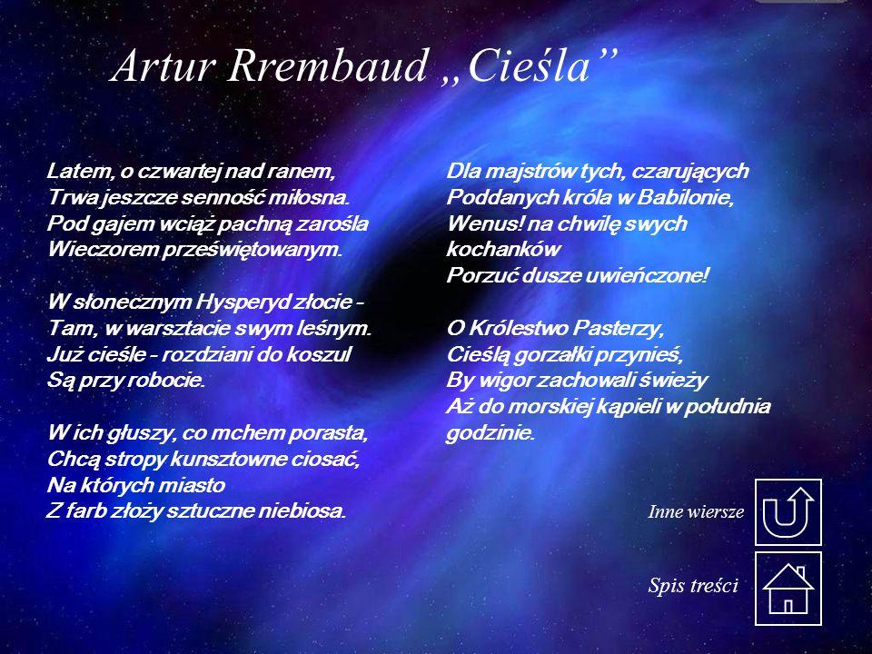 """Artur Rrembaud """"Cieśla"""
