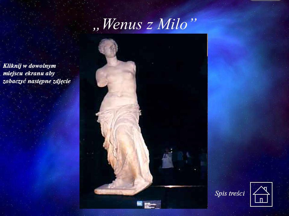 """""""Wenus z Milo Spis treści"""