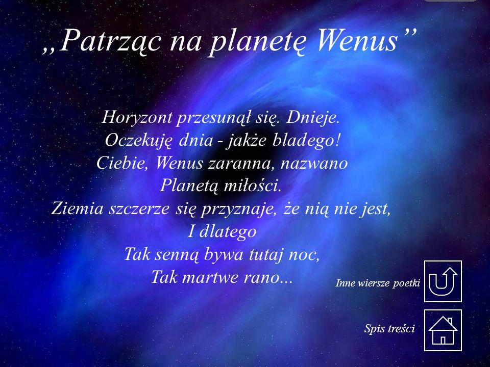 """""""Patrząc na planetę Wenus"""