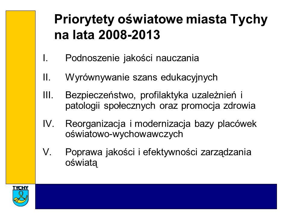 Priorytety oświatowe miasta Tychy na lata 2008-2013