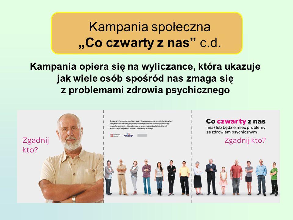 """Kampania społeczna """"Co czwarty z nas c.d."""