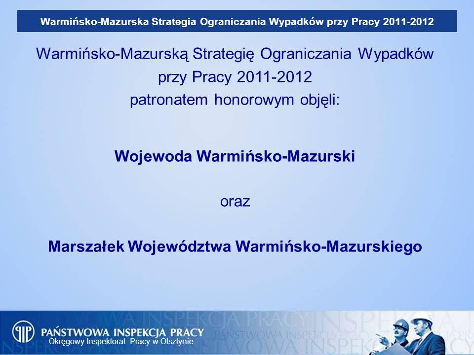 Warmińsko-Mazurską Strategię Ograniczania Wypadków