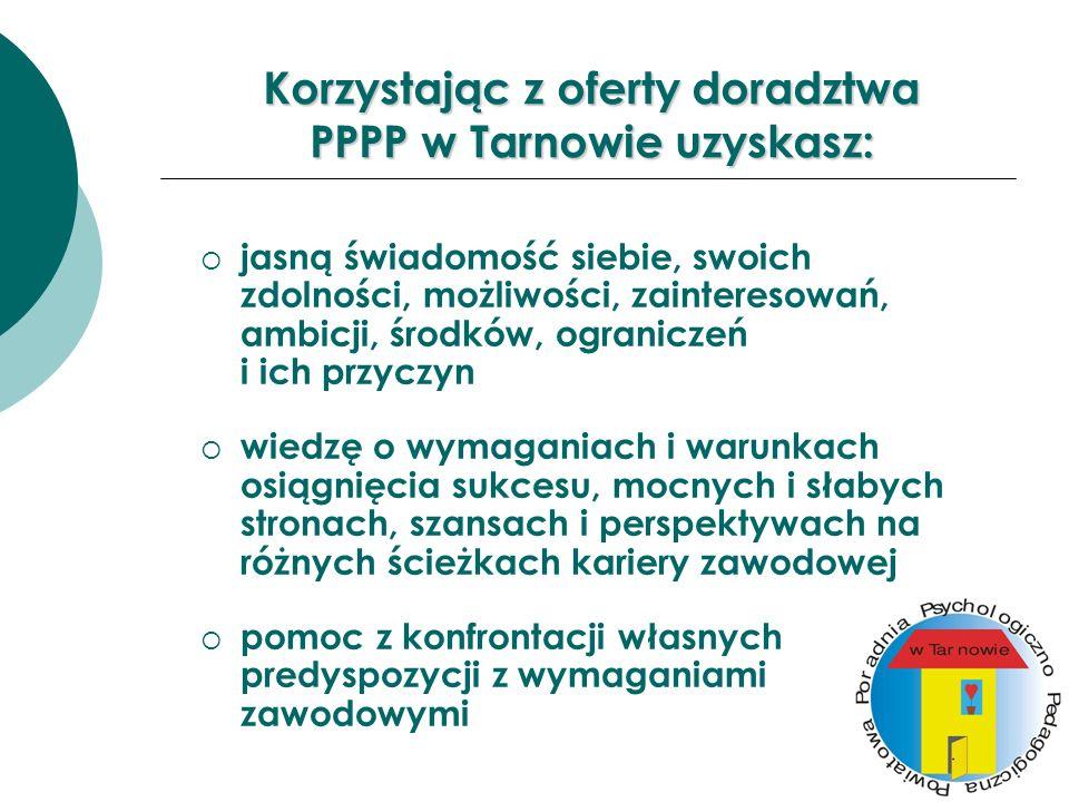 Korzystając z oferty doradztwa PPPP w Tarnowie uzyskasz: