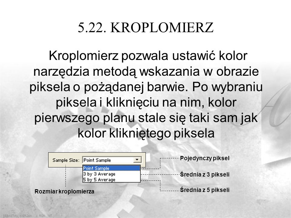 5.22. KROPLOMIERZ