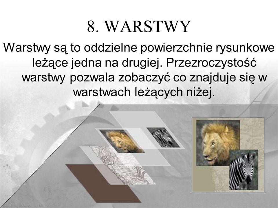 8. WARSTWY
