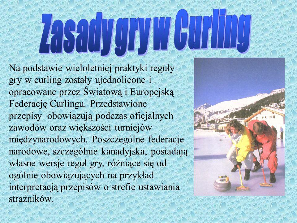 Zasady gry w Curling