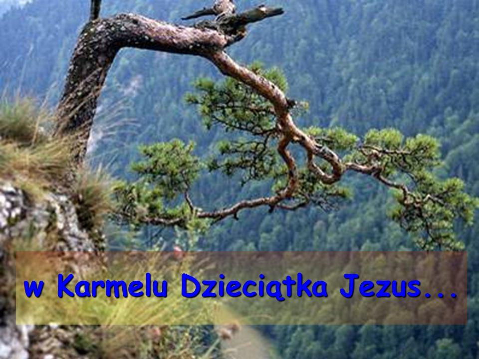 w Karmelu Dzieciątka Jezus...