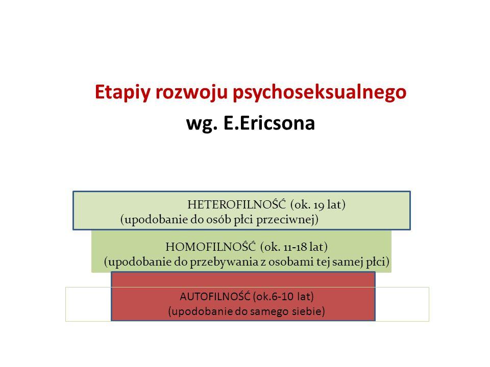 Etapiy rozwoju psychoseksualnego wg. E.Ericsona