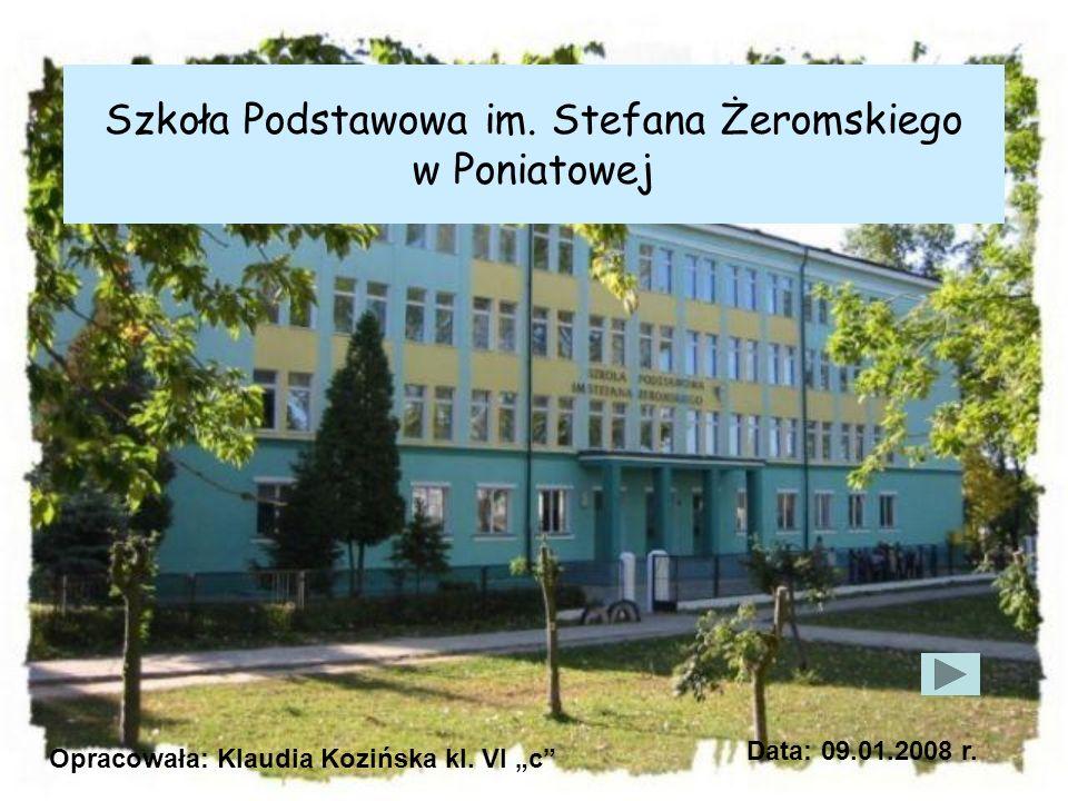 Szkoła Podstawowa im. Stefana Żeromskiego w Poniatowej