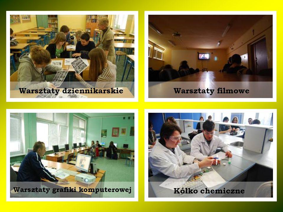 Warsztaty dziennikarskie Warsztaty grafiki komputerowej