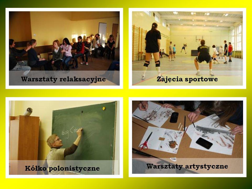 Warsztaty relaksacyjne Warsztaty artystyczne