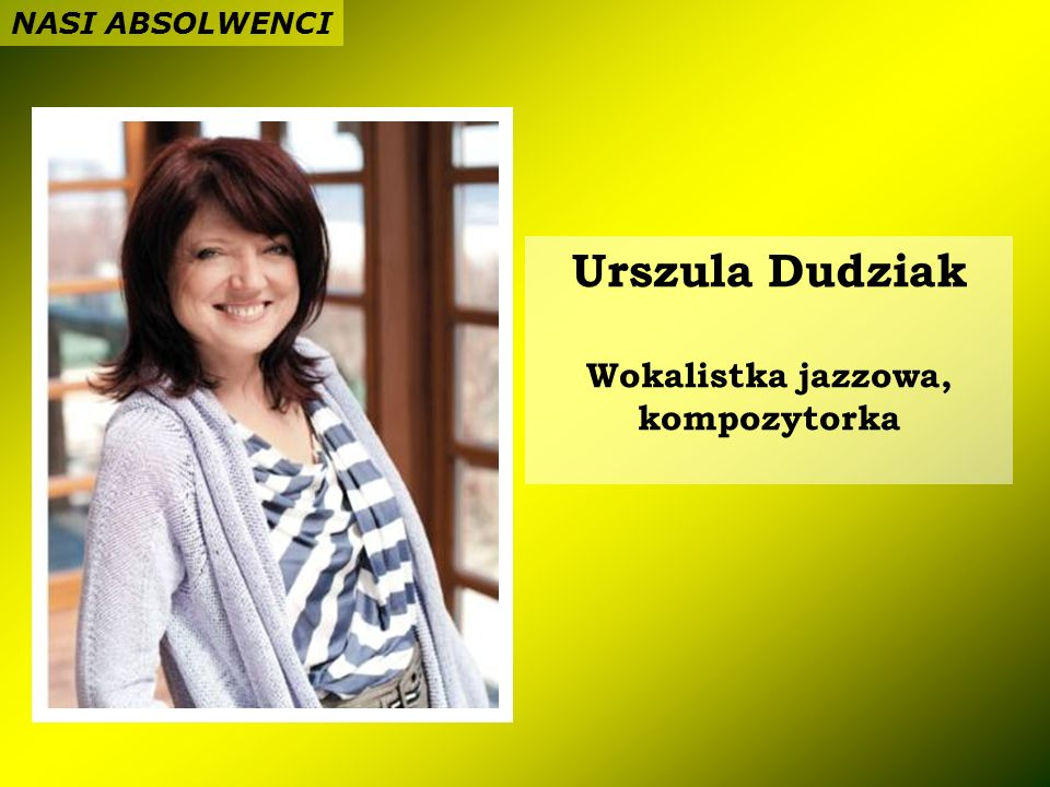 Wokalistka jazzowa, kompozytorka