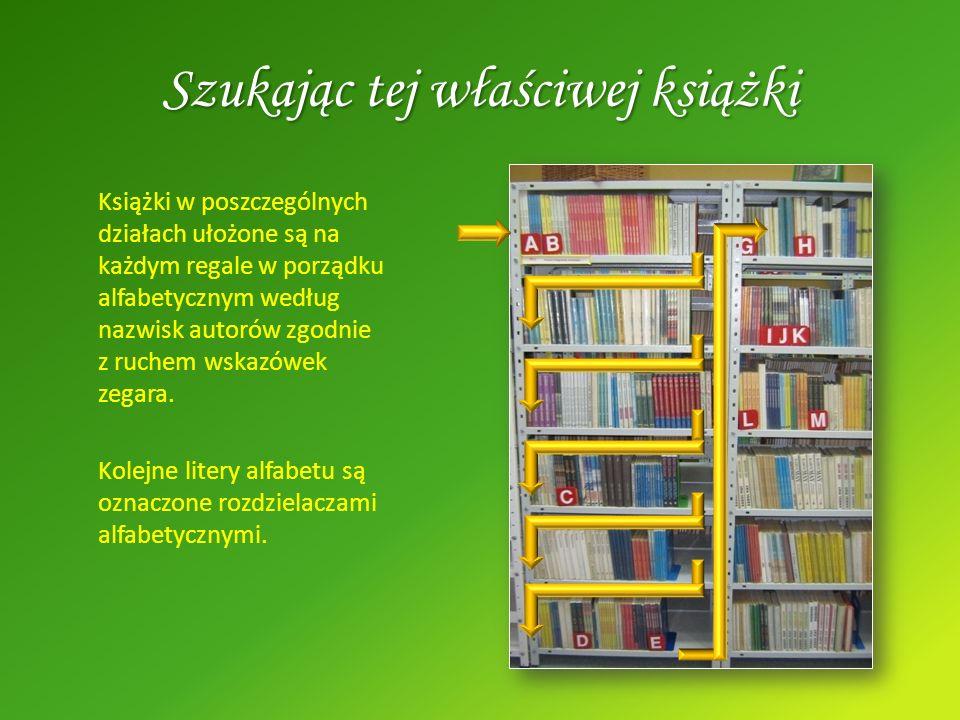 Szukając tej właściwej książki