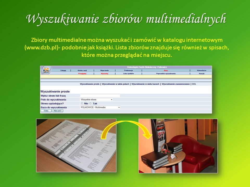 Wyszukiwanie zbiorów multimedialnych