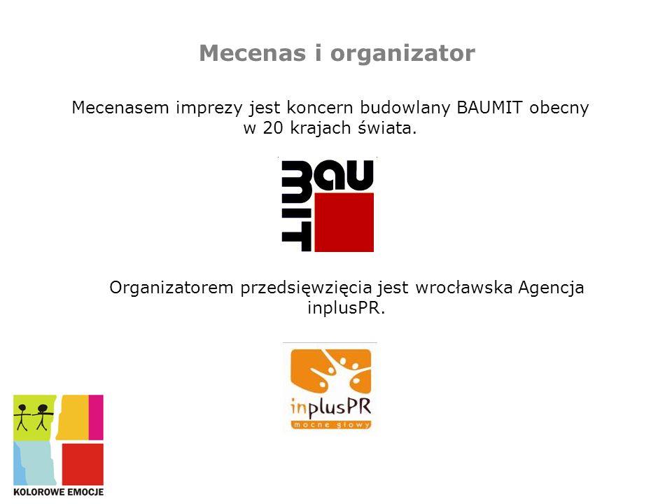 Organizatorem przedsięwzięcia jest wrocławska Agencja inplusPR.