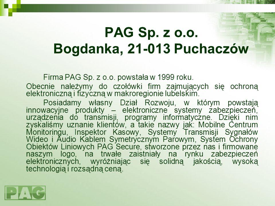 PAG Sp. z o.o. Bogdanka, 21-013 Puchaczów