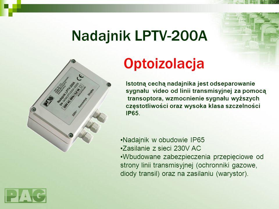 Nadajnik LPTV-200A Optoizolacja Nadajnik w obudowie IP65