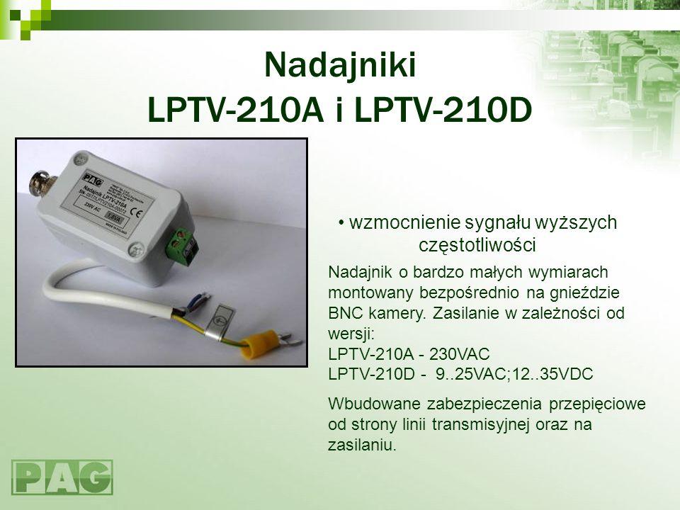 Nadajniki LPTV-210A i LPTV-210D