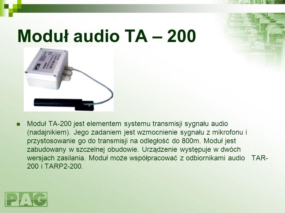Moduł audio TA – 200